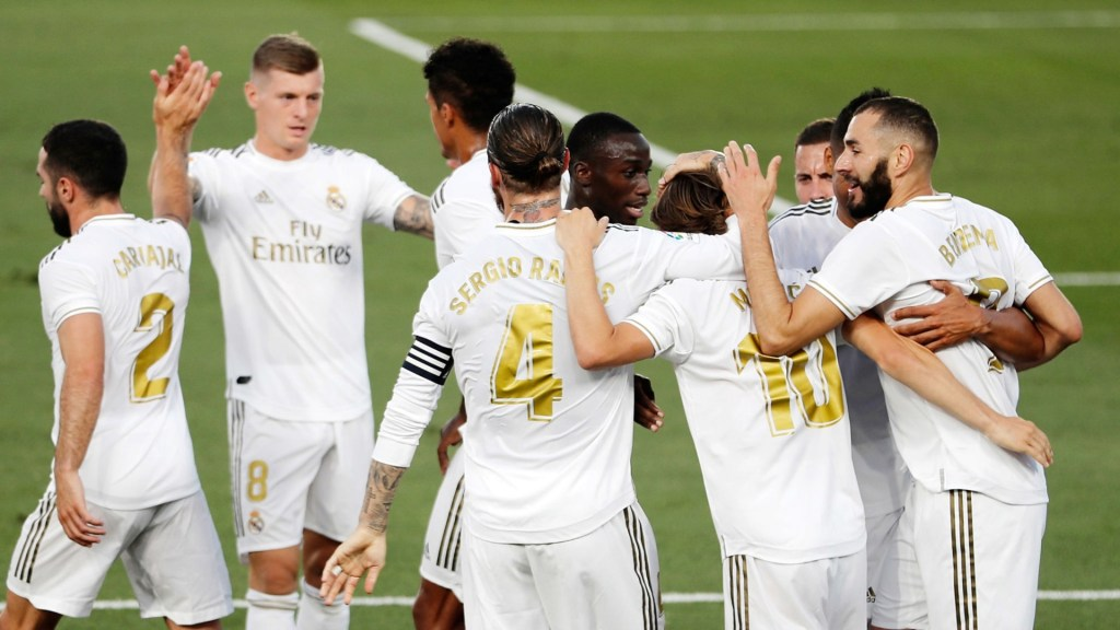 Real Madrid's 22-man squad for the match against Leganés