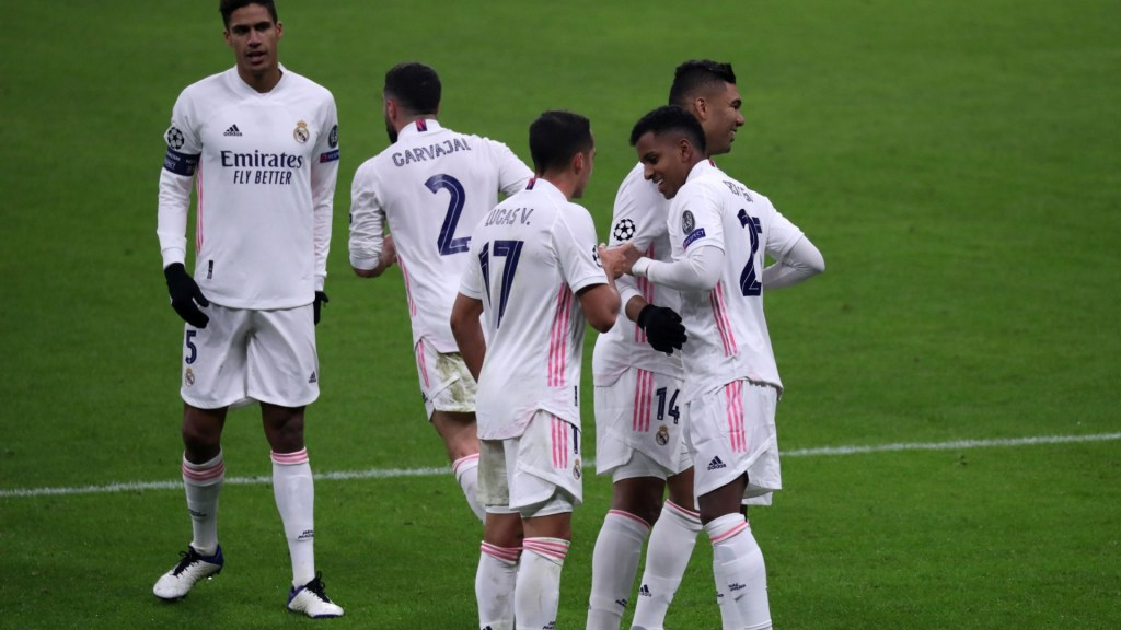 Confirmed: Real Madrid's 21-man squad for the Shakhtar game