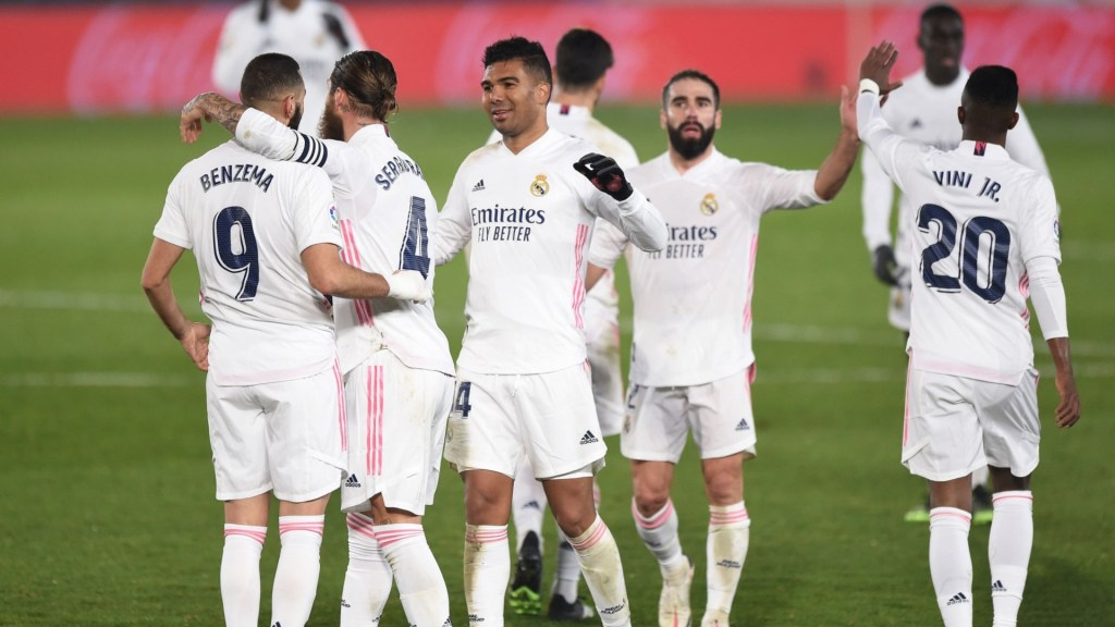 Confirmed: Real Madrid's 24-man squad for the game against Elche