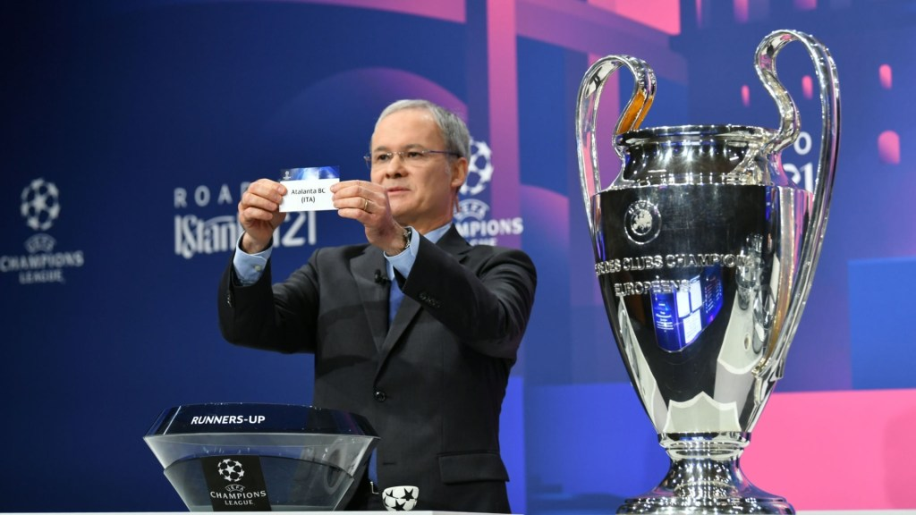 Real Madrid to face Atalanta in the Champions League last-16