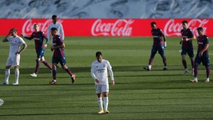 Match Report: Real Madrid 1-2 Levante