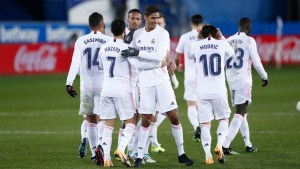 Real Madrid's 20-man squad for the clash against Levante