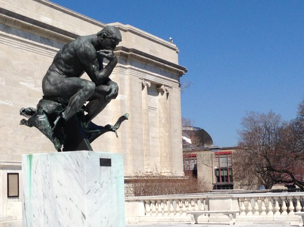 Auguste Rodin The Thinker Cleveland