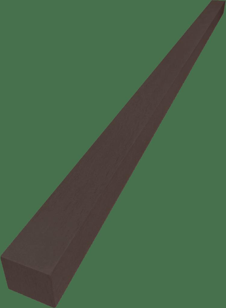 ไม้ระแนง FE สี Dark oak