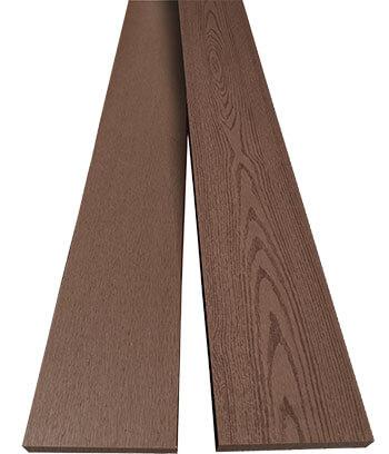 ไม้รั้ว ไม้ระแนง RC สี Mahogany