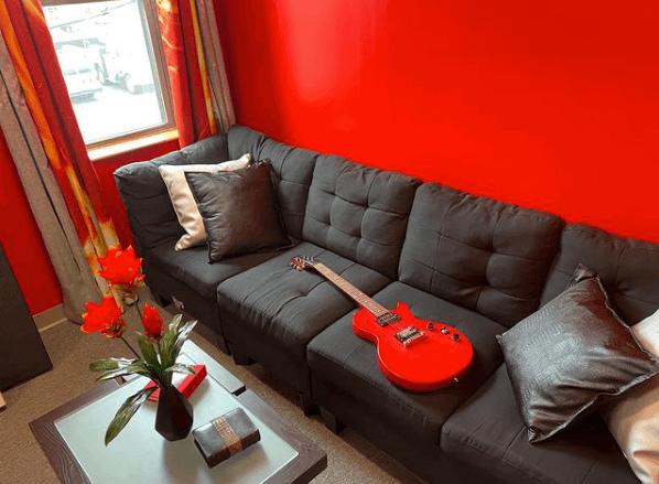 Infinite Recording Studio - Studio A Control Room