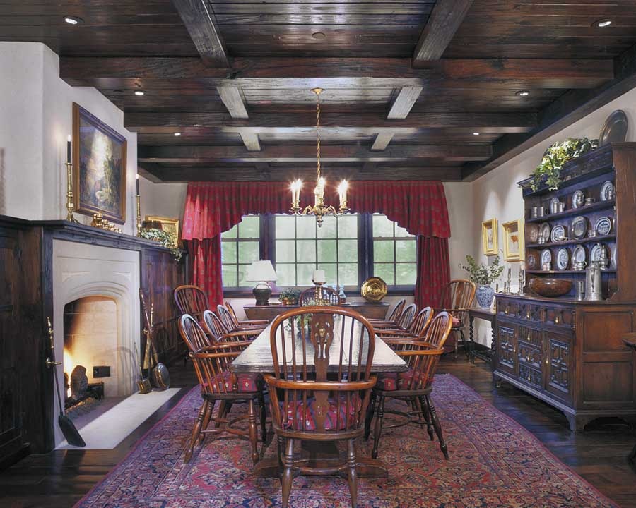 Classic Colorado Ranch with Old English Interior