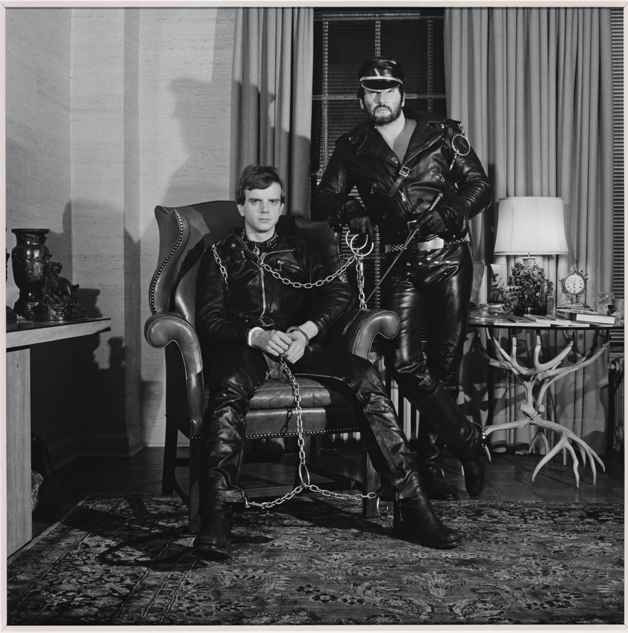 Brian Ridley and Lyle Heeter 1979 by Robert Mapplethorpe 1946-1989