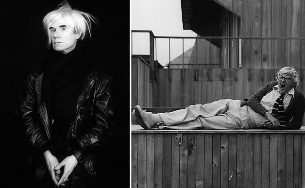 Andy Warhol; David Hockney