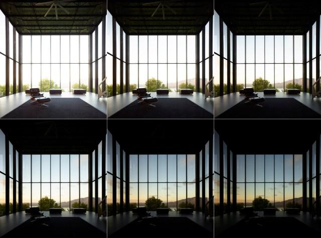 Brad Feinknopf mostra seis exposições diferentes que foram combinadas em uma única imagem. Imagem © Brad Feinknopf