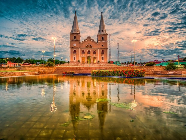 Igreja Matriz de Ceará-Mirim (Foto: Carla Belke)