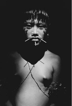 Foto realizada em Roraima, em 1988 (Foto: Sebastião Salgado)