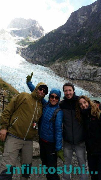 Glaciares Balmaceda y Serrano