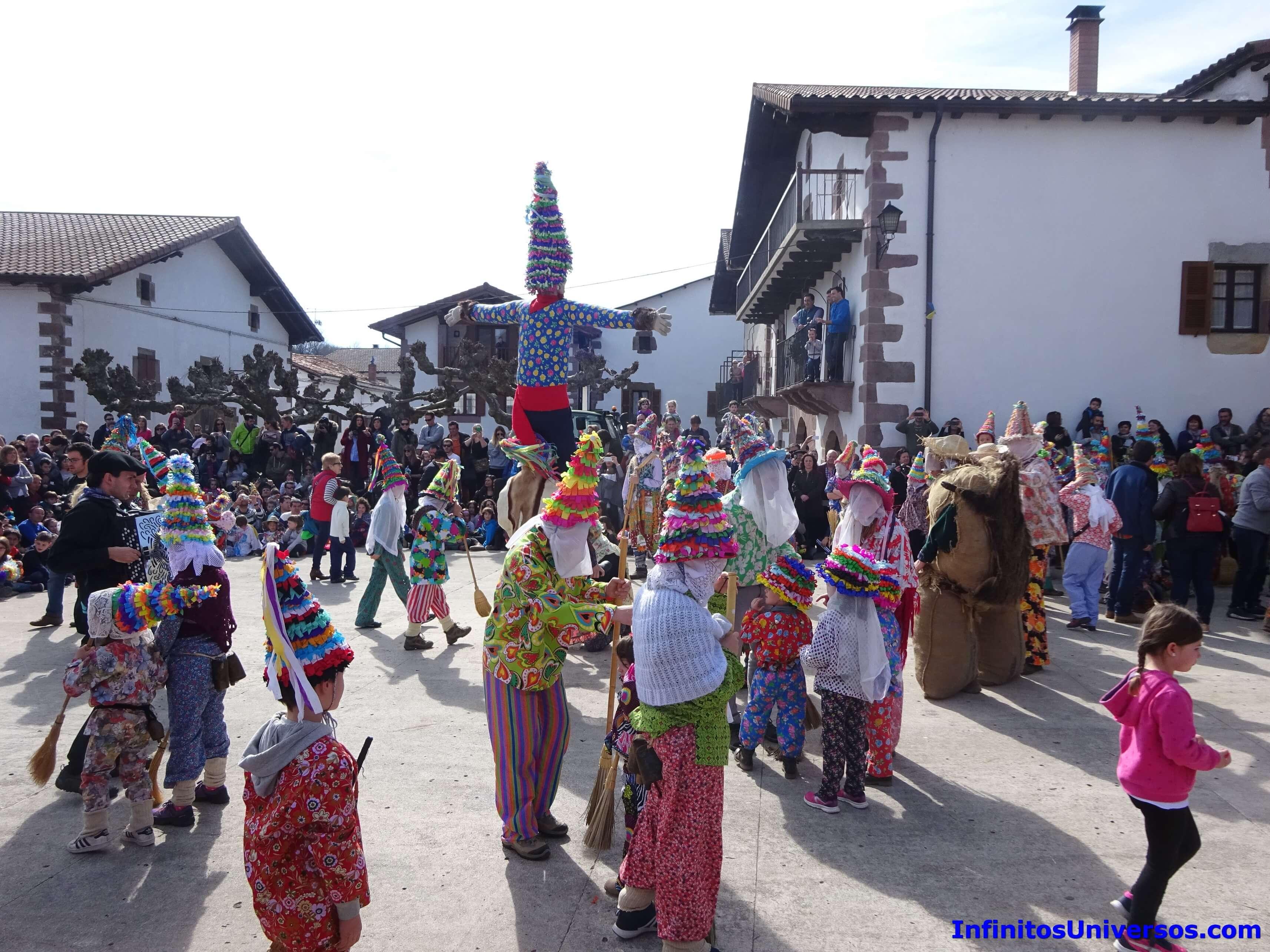 carnavales de lantz lanz navarra