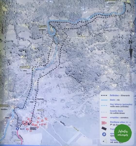 detalles de la ruta navarra