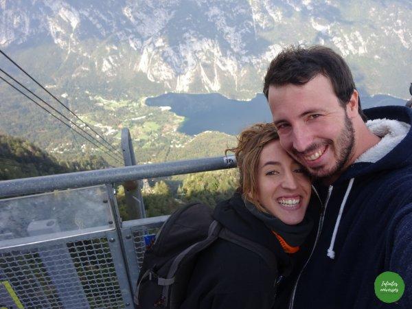 Lago Bohinj desde la estación de esquí de Vogel