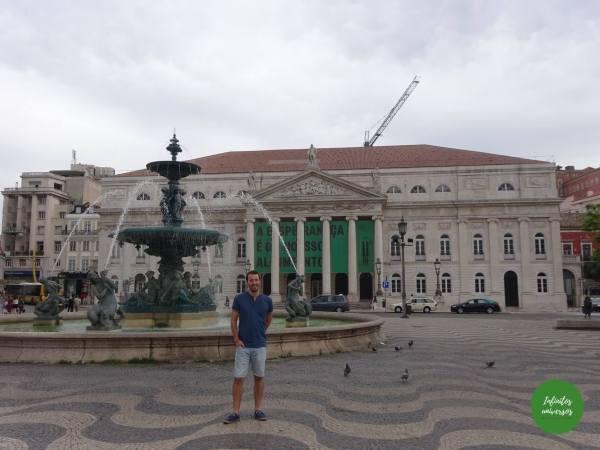 Plaza Pedro IV - Que ver en Lisboa