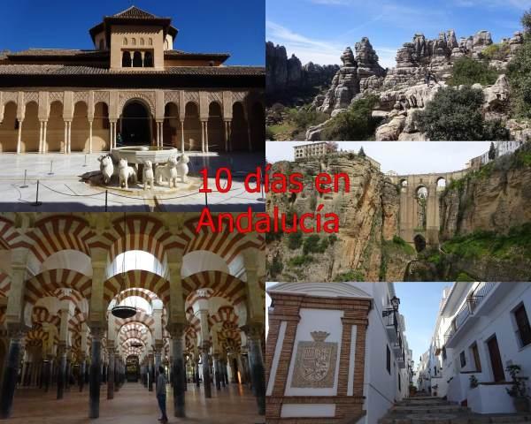 Ruta de 10 días por Andalucía