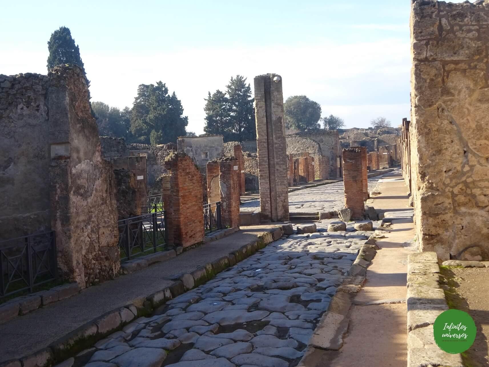 que ver Pompeya parque arqueologico - Europa en verano