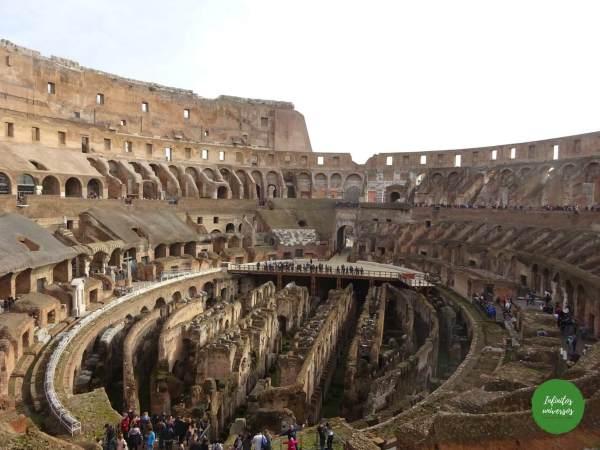 Coliseo romano - Qué ver en Roma