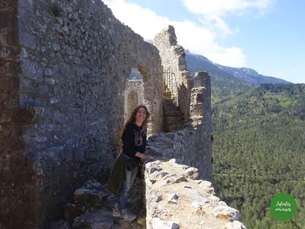 Castillo de Puilaurens cátaros
