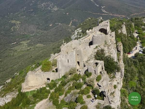 Castillo de Peyrepertuse cátaros