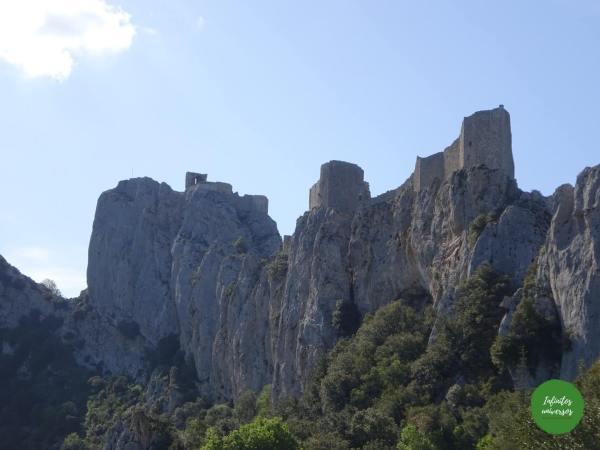 Castillo de Peyrepertuse castillos del sur de francia
