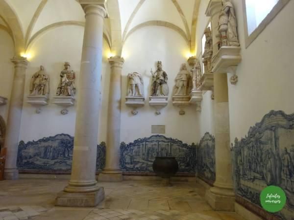 Interior Monasterio deAlcobaça