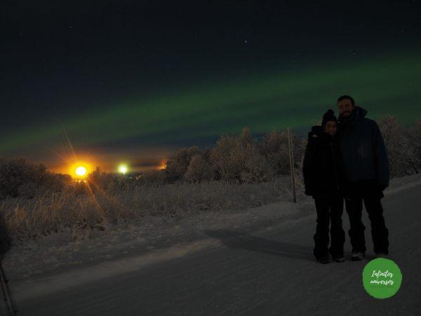 Aurora boreal laponia