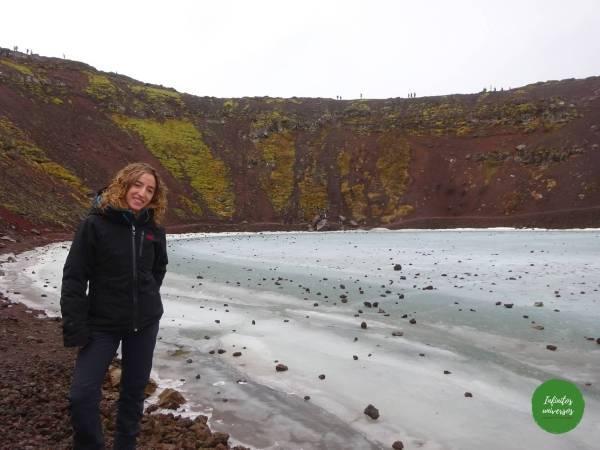 Cráter Kerið Círculo Dorado de Islandia