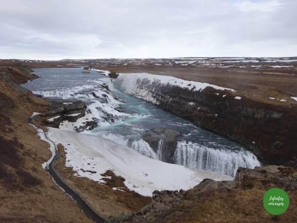 Gullfoss- Islandia en una semana