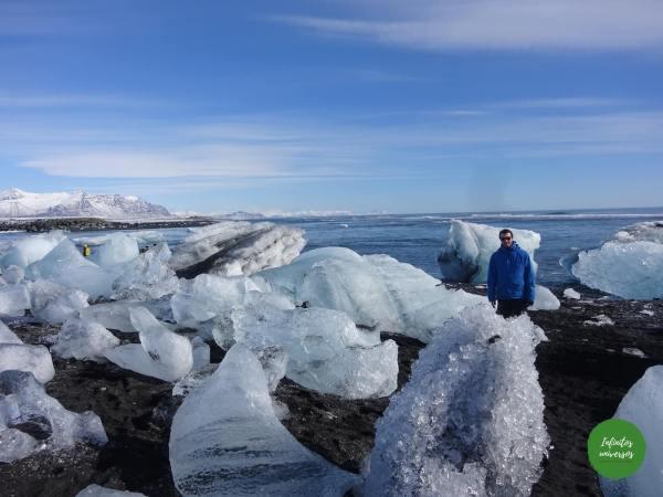 Playa de los diamantes playa de los diamantes Jökulsárlón islandia