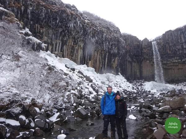 Cascada Svartifoss Islandia en 10 días