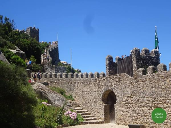 Castelo dos Mouros Sintra  - Qué ver en Sintra en un día sintra portugal