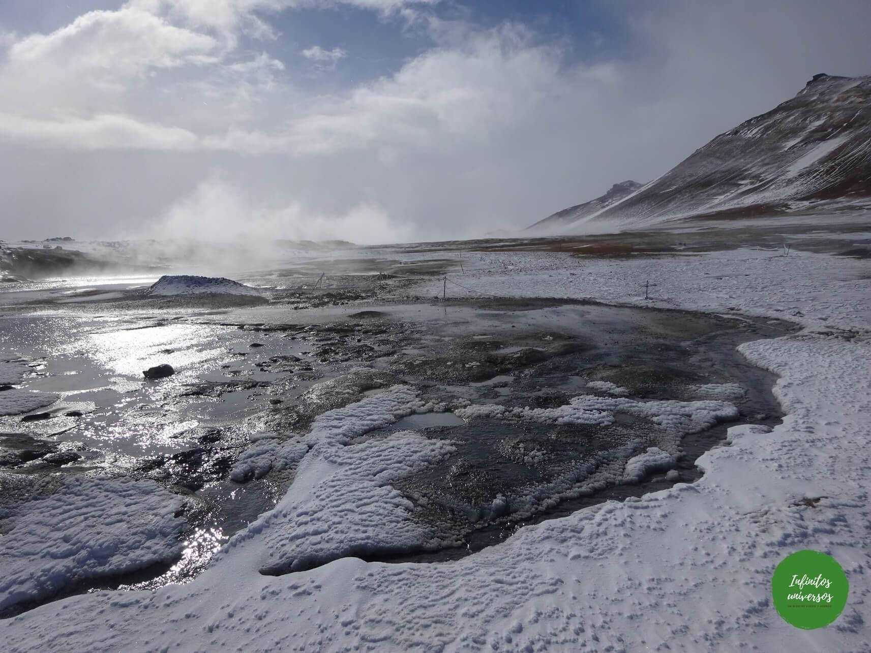 que ver en lago myvatn islandia
