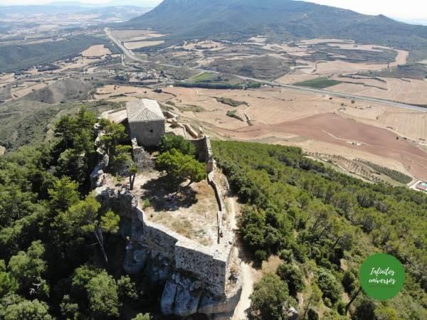 Excursión al Castillo de Monjardín (Navarra)