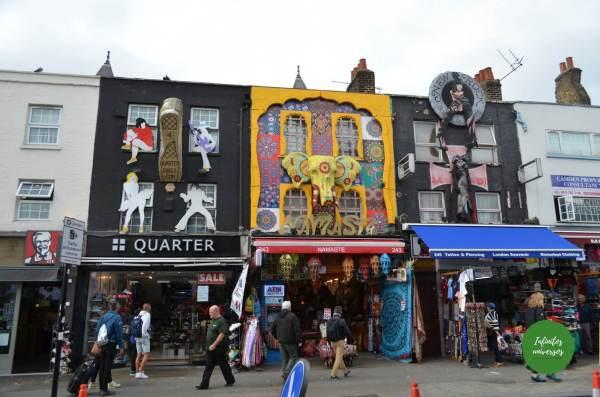 Camden Town londres - Que ver en Londres