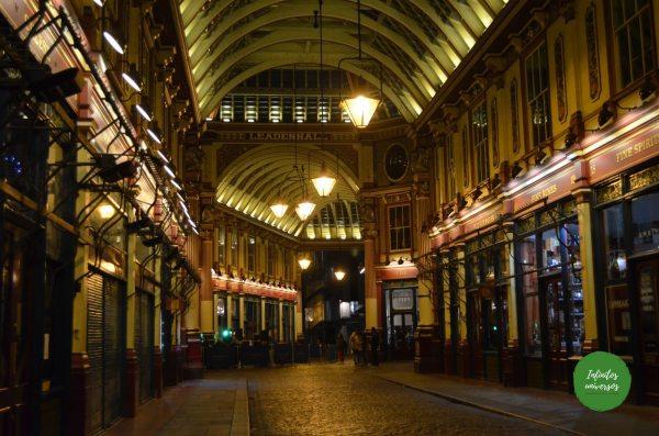 Leadenhall market que visitar en Londres en 4 días