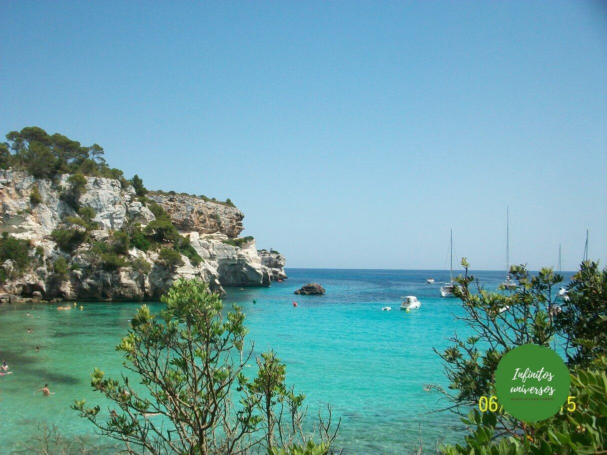 mejores calas y playas Menorca