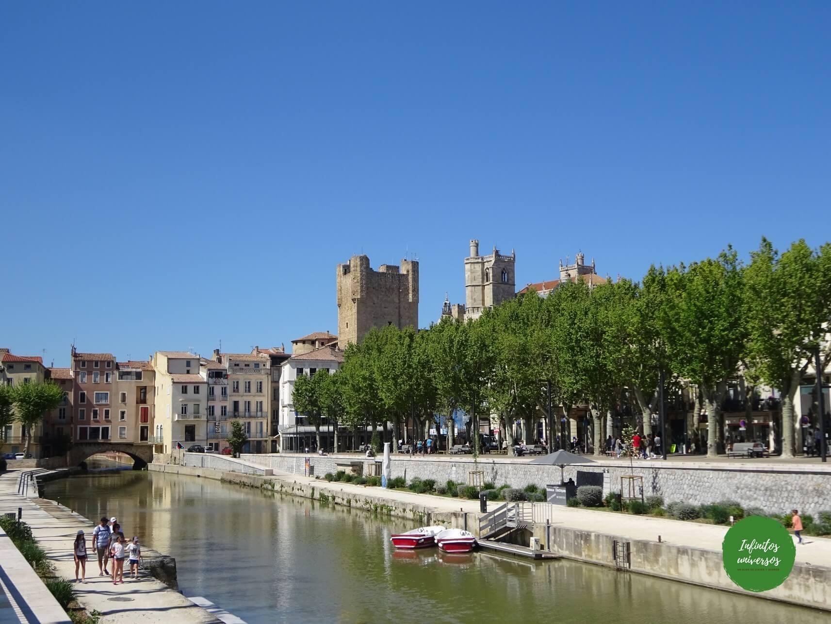 que ver en Narbona en un día francia
