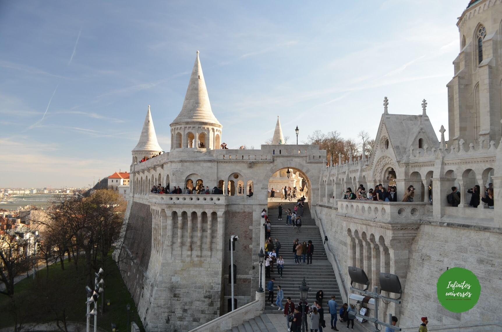 Bastión de los Pescadores - Budapest en 3 días