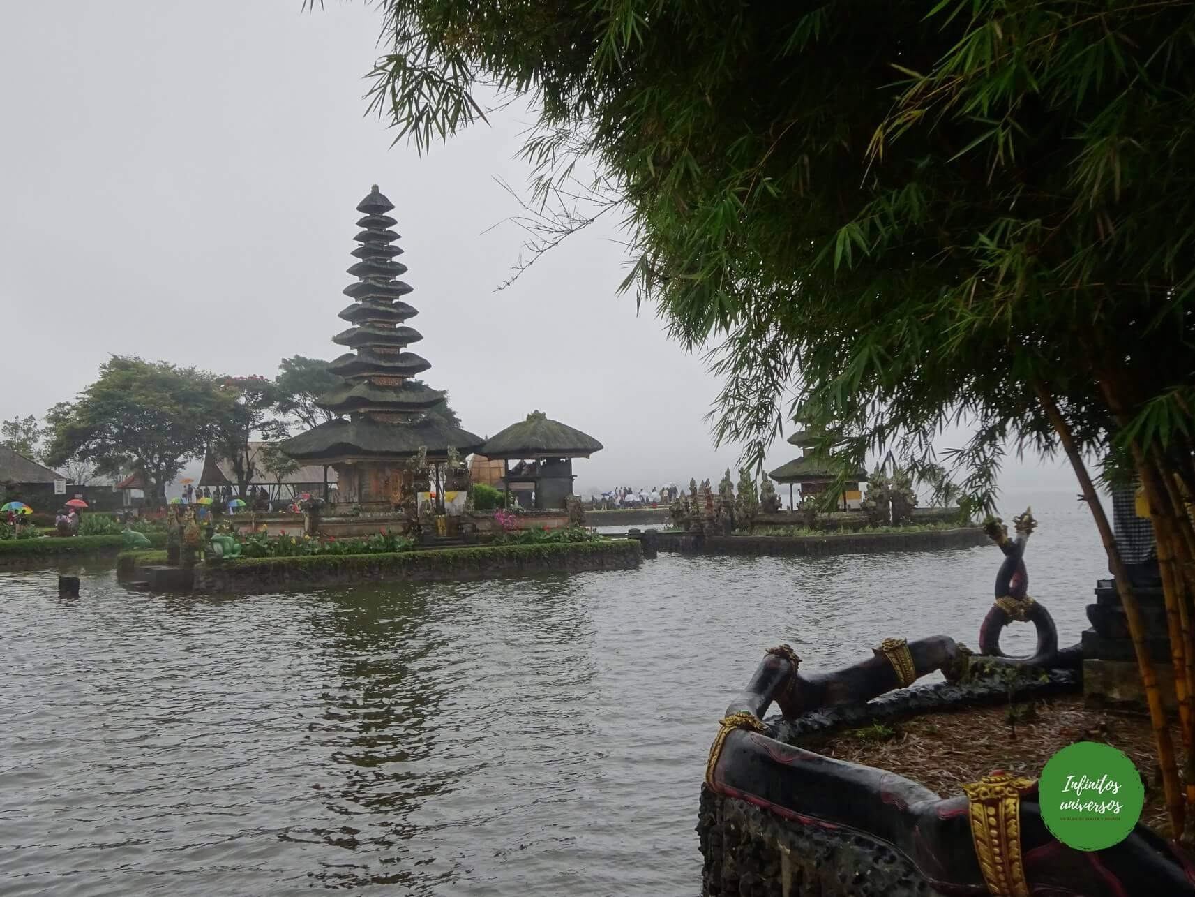 Pura Ulun Danu Bratan - Qué ver en Bali (Indonesia)