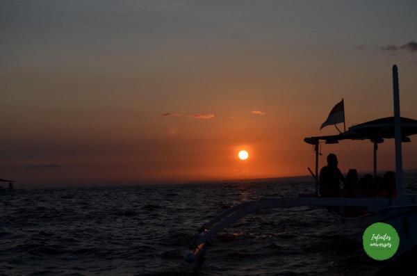 Amanecer en Lovina  - Viaje a Indonesia en 2 semanas