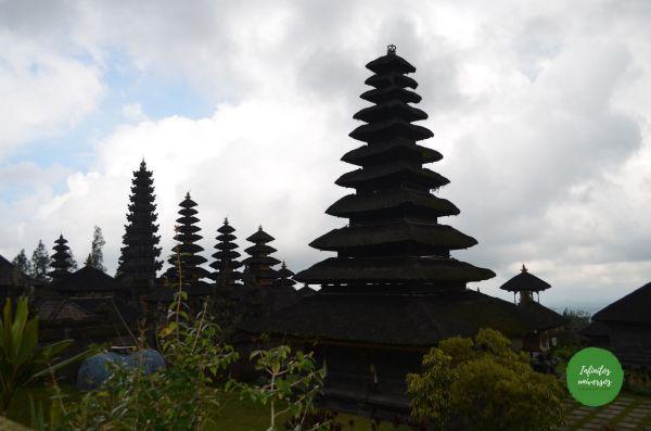 Templo Madre de Besakih este de bali Pura Gunung Kawi Tirta Empul el templo madre de Besakih, la cascada Tukad Cepung el templo Pura Kehen Penglipuran y su bosque de bambú bali indonesia