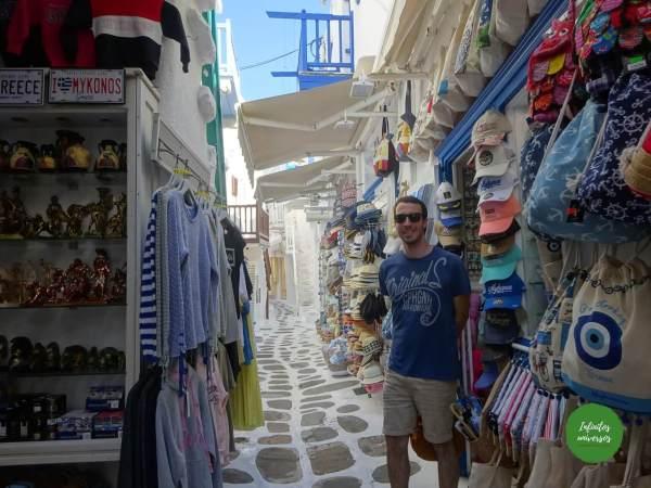 Callejeando por Mykonos