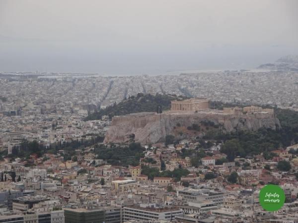 que hacer en Atenas en 2 días monte licabeto