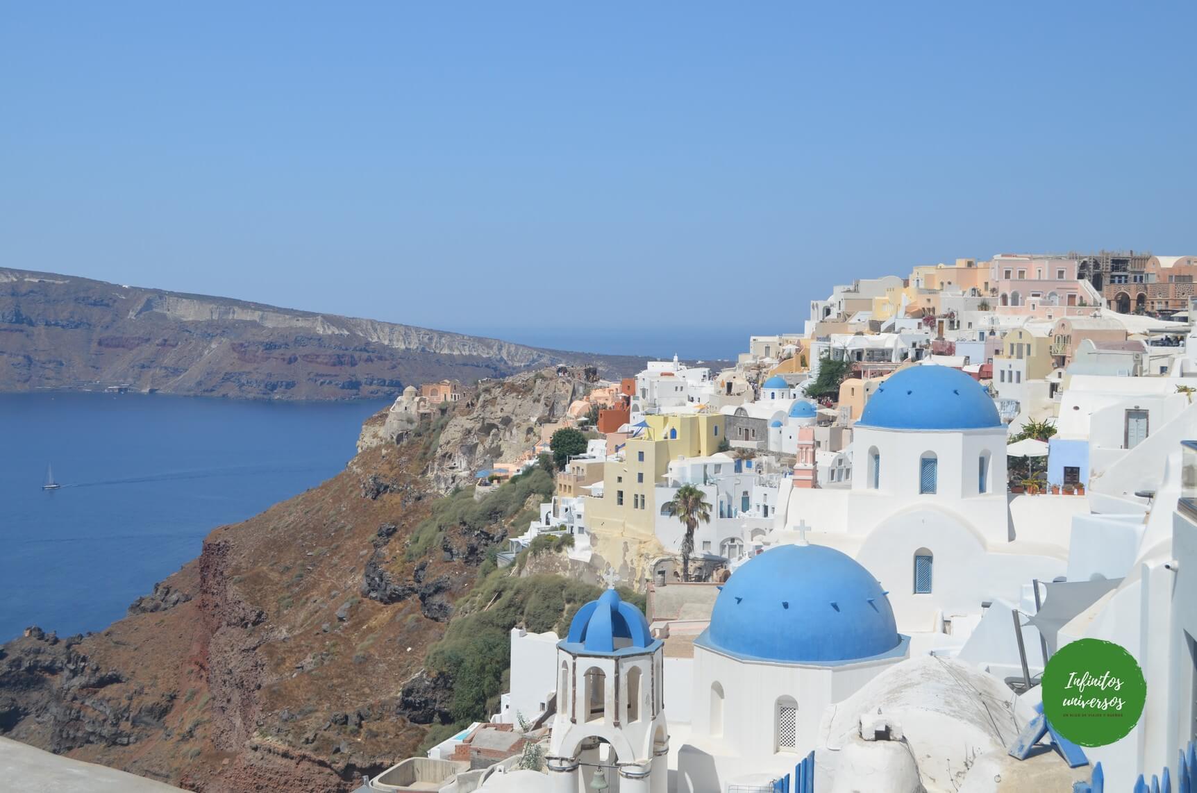 Que ver en Santorini grecia - Europa en verano