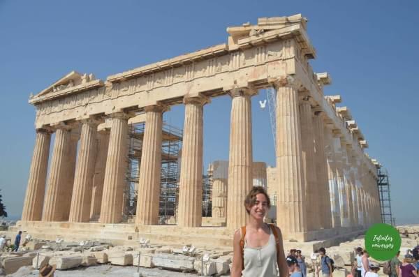que hacer en Atenas en 2 días acropolis partenon
