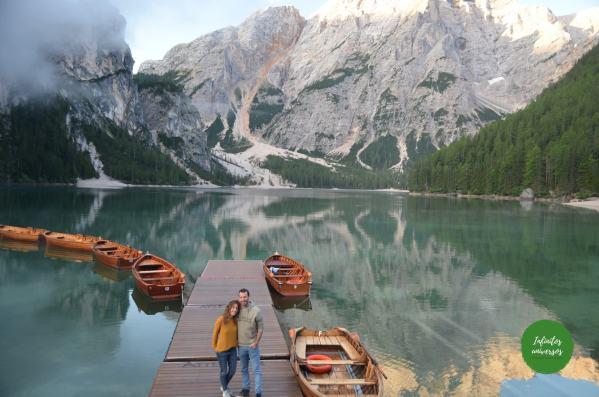 Lago di Braies Dolomitas Italia lagos dolomitas