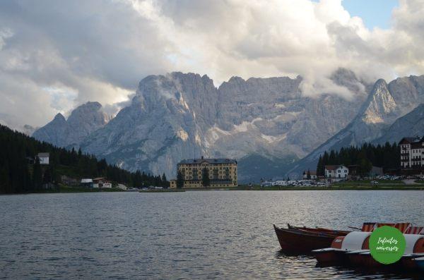 Lago Misurina Dolomitas Italia - Ruta por los Dolomitas en 10 días